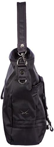 Sansibar Calima - Bolso de hombro de material sintético mujer negro - negro