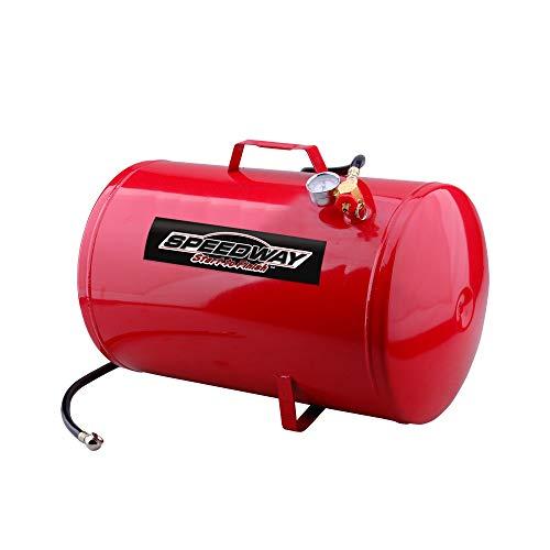 [해외]Metal 10-Gallon Portable Air Tank - Red / Metal 10-Gallon Portable Air Tank - Red
