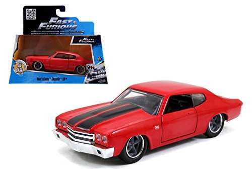 Jada Toys 1/32 DOM'S Chevrolet Chevelle SS Red Fast and Furious Diecast Car by Jada