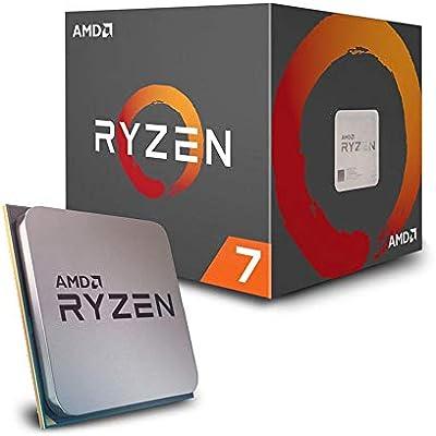 AMD Ryzen 7 2700 Processor with Wraith Spire RGB LED Cooler - YD2700BBAFBOX