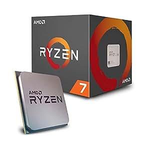 AMD Ryzen 7 2700 Processor with Wraith Spire LED Cooler 8 AM4 YD2700BBAFBOX