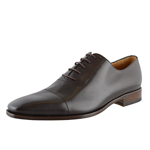 Gucci Men's Brown Leather Oxfords Shoes US 13.5 IT 12.5 EU 46.5 (Brown Gucci Shoes)