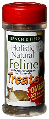 Bench Field Holistic Natural Feline Treats 3-ounce Jars Pack Of 6 from Bench & Field
