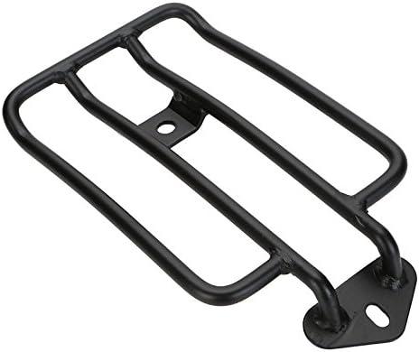 MagiDeal Moto Bagages Noir Support /étag/ère Porte-cadre De La Queue Pour Si/ège Solo Harley