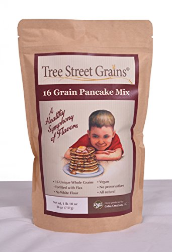 (16 Grain Pancake Mix by Tree Street Grains)