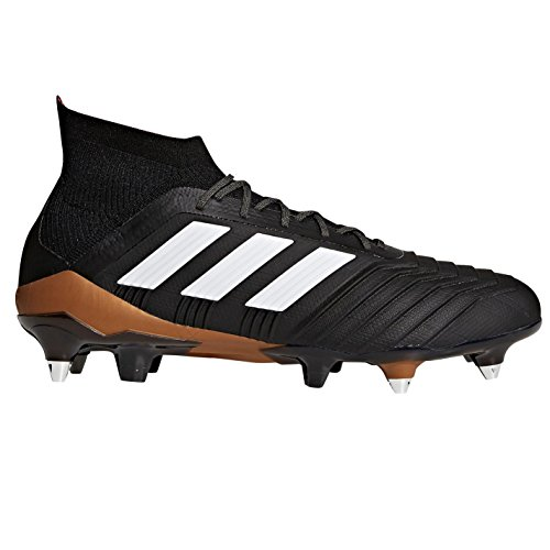 para Fútbol Ftwbla Hombre Adidas de Predator 1 SG 000 Botas 18 Negro Negbás Rojsol Px11qT0Yw