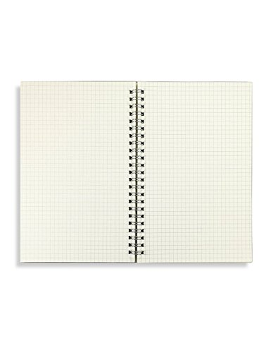 Miliko Transparent Hardcover Square Grid A5 Size - Import It All