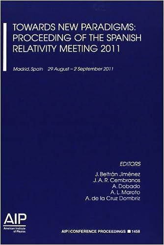 Descargar Libros Ebook Gratis Towards New Paradigms: Proceedings Of The Spanish Relativity Meeting 2011 La Templanza Epub Gratis