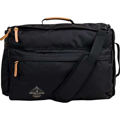 United By Blue Basin Convertible Messenger Bag - Black by United By Blue
