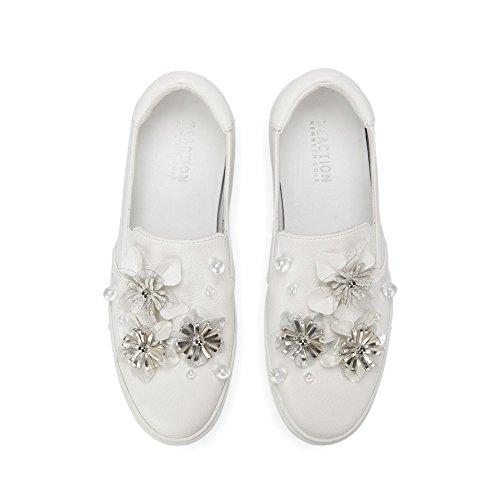 Reactie Kenneth Cole Juichen Floral Platform Sneaker - Vrouwen Wit