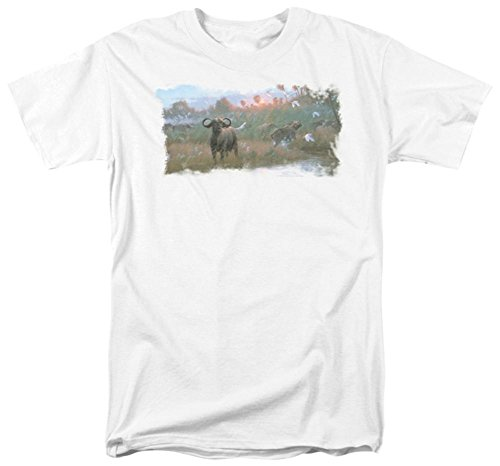 wildlife-cape-buffalo-t-shirt-size-s