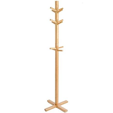 Perchero De Pie Sala De Estar De Dormitorio De Bambú para ...