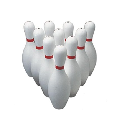 FLAGHOUSE Poly Bowling Pins - Weighted - Set Weighted Bowling