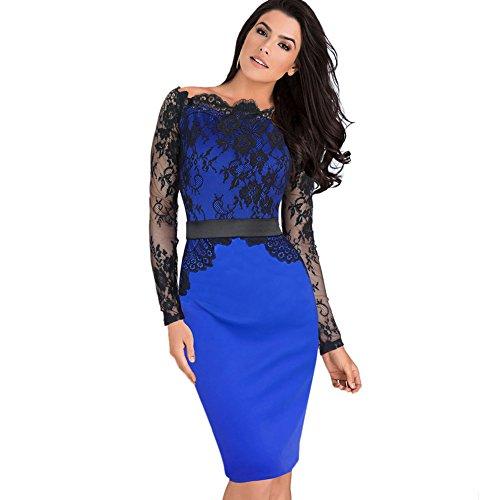 Buy belted lace sheath dress - 8