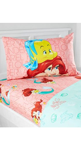 Disney Princess Little Mermaid Ariel Microfiber Full Shee...