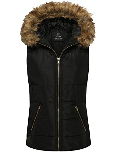 FPT Womens Puffy Zip Up Vest product image