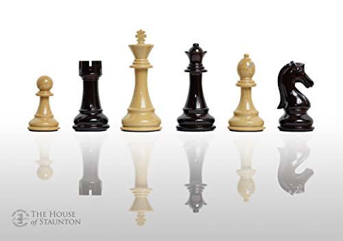 The House of Staunton The Candidates Series Chess Set - Pieces Only - 4.25