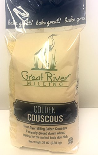 Great River Milling Golden Couscous, 24 Ounce (Pack of 4) by Great River Organic Milling