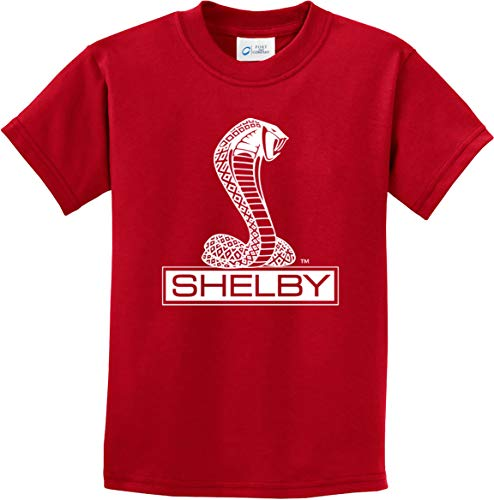Ford Shelby Cobra Youth Kids Shirt, Red Medium