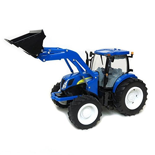 Ertl Big Farm 1:16 New Holland T7050 Tractor With Loader -  Learning Curve, 35635