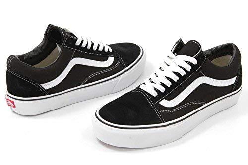 Vans Men's Old Skool(Tm) Core Classics (11 B(M) US Women / 9.5 D(M) US Men, Black/White) (Vans Shoes Old Skool Men)