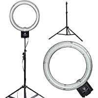 Diva Ring Light Nova 18 Original Photo/Video Fluorescent with 6 Light Stand