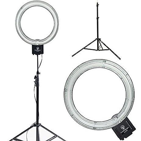makeup light stand. diva ring light nova 18\u0026quot; original photo/video fluorescent with 6\u0027 stand makeup