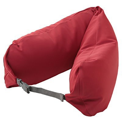 MUJI WELL FITTING NECK CUSHION - RED COLOR by Muji