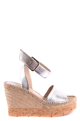 Chaussures Cuir Argent Barceló Compensées Mcbi229010o Femme Paloma X7qfwFpw