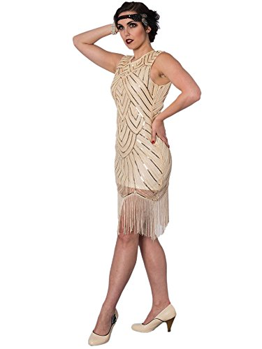 by Great Banned Dancing Gatsby Days 5568 Kleid Beige The Dress Hqga5Owa