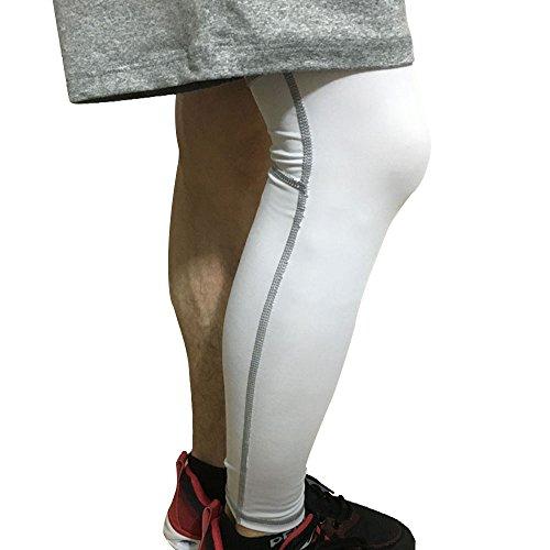 Eizur 1 Pezzo Unisex Ginocchio Manica Gamba di Compressione Ginocchiere  Tutore Kneepad Traspirante Ginocchiere Supporti Elastico Antislip Knee  Protector ... 330258433a13