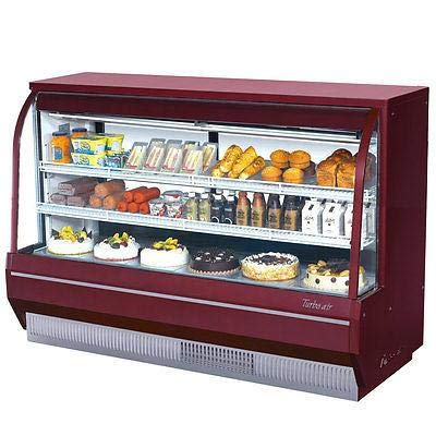 (Turbo Air TCDD-72H-R-N Curved Glass Bakery Case)