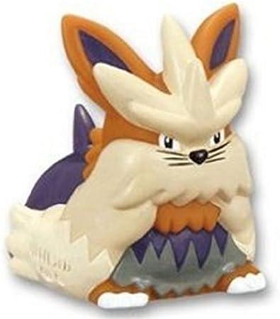 """Pokemon Black and White Finger Puppet Mini Figure ~2/"""" Stoutland//Murando"""