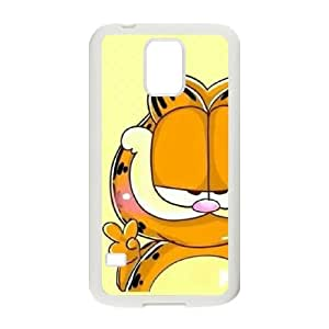 Garfield For Samsung Galaxy S5 I9600 Csaes phone Case THQ138615