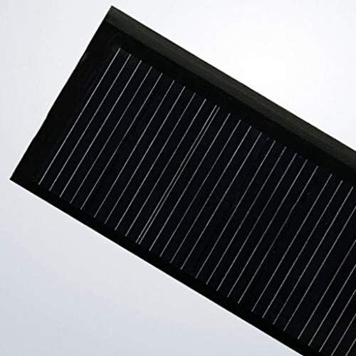 LOVIVER Satz Von 2 Kleinen Solarpanel Polysilicon Solarzelle Eletric Charger Solar