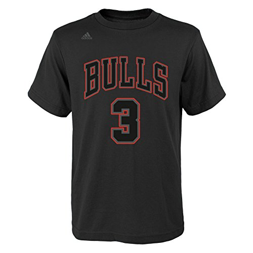 ys Youth Hyper Name and Number Short Sleeve Tee, Medium (10-12), Black ()