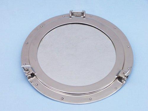 Deluxe Class Chrome Porthole Mirror 20