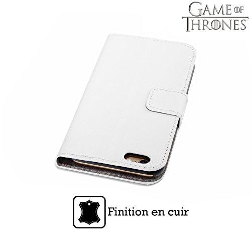Officiel HBO Game Of Thrones Lannister Devises De Maison Étui Coque De Livre En Cuir Pour Apple iPhone 6 / 6s