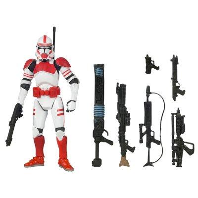 Amazon.com: Star Wars Clone Wars Saga Legends Action Figure SL No. 17 Shock Trooper: Toys & Games