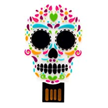 By Mexico USB modelo Calavera Colores 8 GB