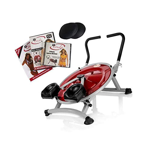 Home Gym Exercise Fitness Machine & DVD AB Circle Pro Abs and Core New (Renewed)
