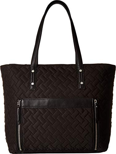 - Cole Haan Women's Quilted Nylon Tote Black One Size