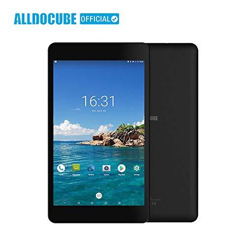 OUYAWEI ALLDOCUBE M8 4G Phone Call Tablet PC 8.4-Inch 1920x1200 Screen MT6797X Helio X27 Deca Core Android 8.0 3GB RAM 32GB ROM Dual SIM GPS OTG Tablet Computer Black U.S. regulations