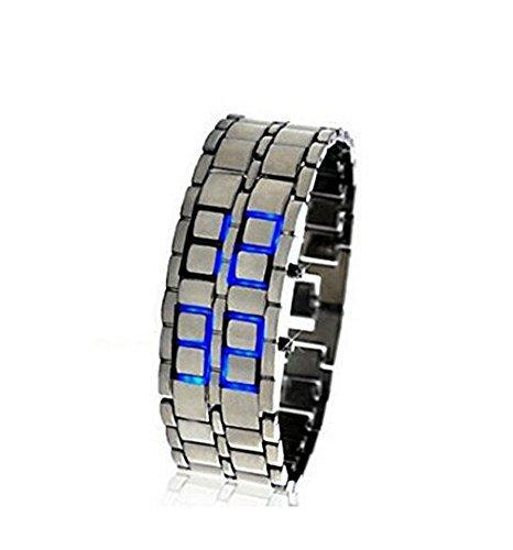 Iron Samurai - Japanese Inspired Blue LED Watch