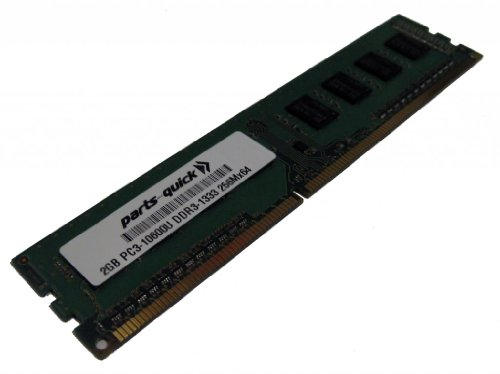 2GB Memory Upgrade for Gigabyte GA-78LMT-USB3 Motherboard DDR3 PC3-10600 1333MHz DIMM Non-ECC Desktop RAM (PARTS-QUICK BRAND) by parts-quick