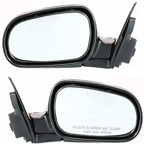 Power Mirror For 1990-1993 Honda Accord Driver Side Paintable Manual Folding