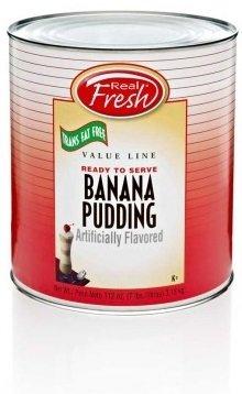 Real Fresh Trans Fat Free Banana Pudding 7 lb (6 Count) by Real Fresh