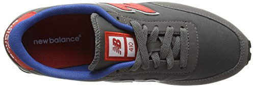 New Balance Zapatillas U410 Gris (Grey/Red/Blue)