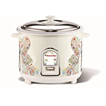 butterfly Raga 18 Litre Electric Rice Cooker Multicolour