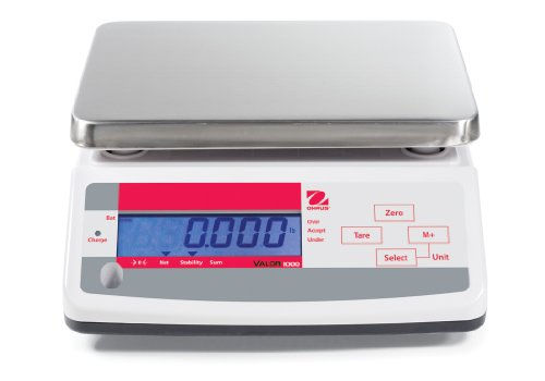 Ohaus Digital Scales - Ohaus 83998127 Valor ABS Compact Precision Scale, with Single Display, 6000g x 1g